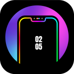 Free Download Edge Lighting Colors – Round Colors Galaxy 10.0 APK