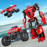 Free Download Flying Robot Monster Truck Battle 2019  APK