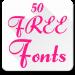Free Download Fonts for FlipFont 50 #6 4.0.4 APK