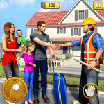 Free Download New Family House Builder Happy Family Simulator 1.7 APK
