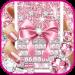 Free Download Pink Bow Diamond Luxury Keyboard Theme 1.0 APK