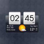 Free Download Sense Flip Clock & Weather 5.96.2 APK