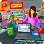 Free Download Supermarket Grocery Shopping Mall Family Game 1.8 APK