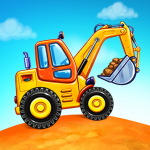 Free Download Truck games for kids – build a house, car wash 7.3.4 APK