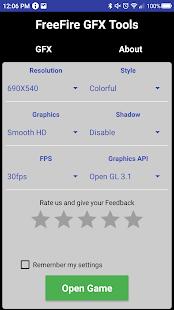 GFX Tool – Free Fire Booster v1.2.19.2cc5 screenshots 1