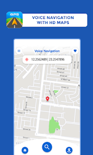 GPS Maps Driving Directions GPS Navigation v screenshots 1