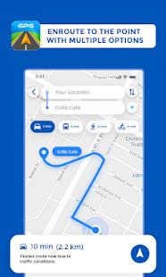 GPS Maps Driving Directions GPS Navigation v screenshots 2