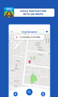GPS Maps Driving Directions GPS Navigation v screenshots 4