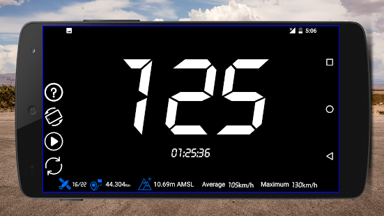 GPS Speedometer Odometer Trip meter GPS speed v1.2.0 screenshots 2