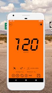 GPS Speedometer Odometer Trip meter GPS speed v1.2.0 screenshots 3