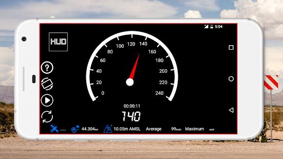 GPS Speedometer Odometer Trip meter GPS speed v1.2.0 screenshots 4