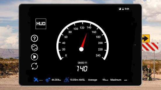 GPS Speedometer Odometer Trip meter GPS speed v1.2.0 screenshots 9