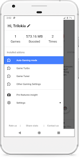 Gamers GLTool Free with Game Turbo amp Game Tuner v0.0.5 screenshots 1