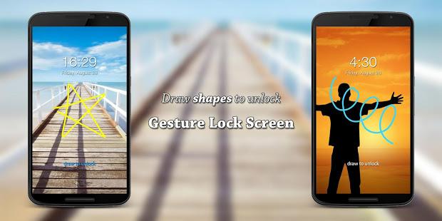Gesture Lock Screen v3.6.8 screenshots 2