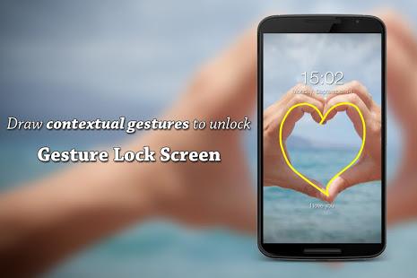 Gesture Lock Screen v3.6.8 screenshots 4