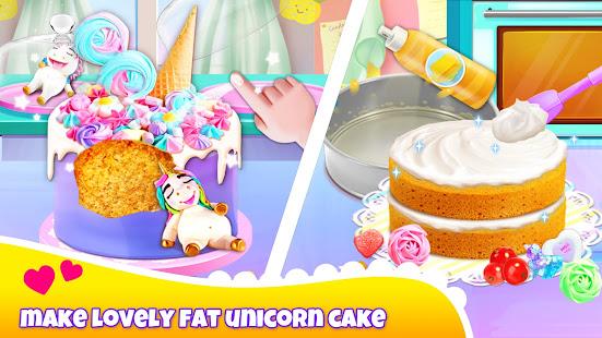 Girl Games Unicorn Cooking Games for Girls Kids v6.7 screenshots 2