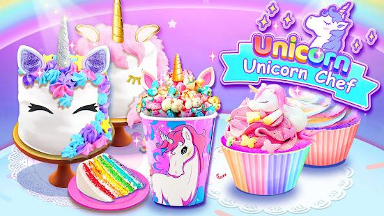 Girl Games Unicorn Cooking Games for Girls Kids v6.7 screenshots 5
