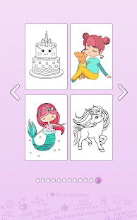 Girls Coloring Book – Color by Number for Girls v2.3.0.1 screenshots 8