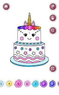 Girls Coloring Book – Color by Number for Girls v2.3.0.1 screenshots 9