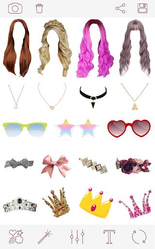 Girls Hairstyles v1.7.8 screenshots 1