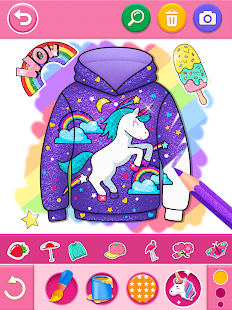 Glitter dress coloring and drawing book for Kids v5.0 screenshots 11