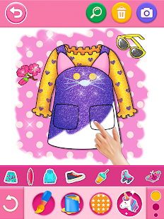 Glitter dress coloring and drawing book for Kids v5.0 screenshots 13