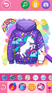 Glitter dress coloring and drawing book for Kids v5.0 screenshots 7