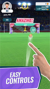 Golden Boot – free kick soccer game v2.1.6 screenshots 1