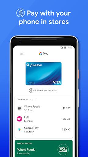 Google Pay v2.130.370156226 screenshots 1