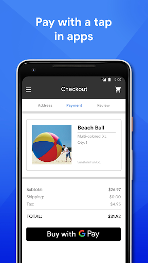Google Pay v2.130.370156226 screenshots 2