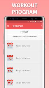 Gym Guider Offline v screenshots 5
