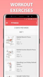 Gym Guider Offline v screenshots 6