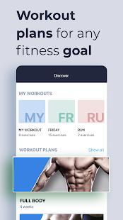 Gym Gym Workout Personal Trainer Bodybuilding v7.5.2 screenshots 2
