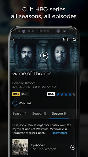 HBO GO v5.9.8 screenshots 2