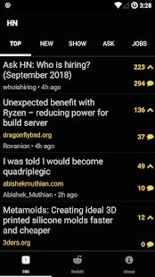 Hacked.It – Tech News Reader v1.1 screenshots 1