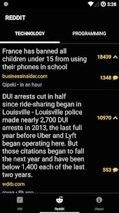 Hacked.It – Tech News Reader v1.1 screenshots 2