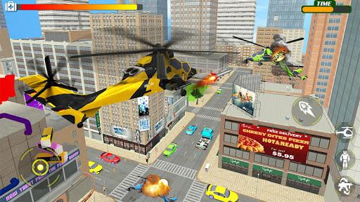 Helicopter Robot Car Transform v1.0.18 screenshots 11