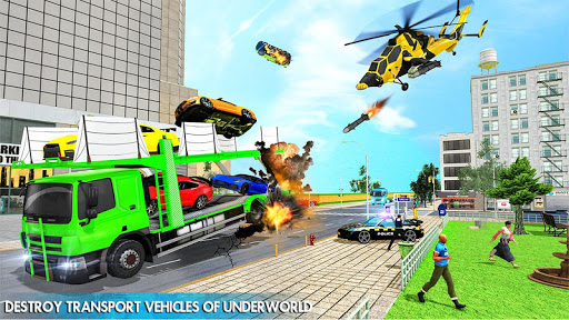 Helicopter Robot Car Transform v1.0.18 screenshots 14
