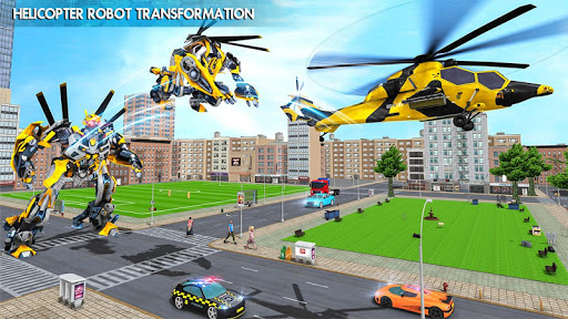 Helicopter Robot Car Transform v1.0.18 screenshots 17