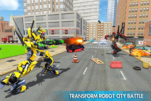 Helicopter Robot Car Transform v1.0.18 screenshots 4