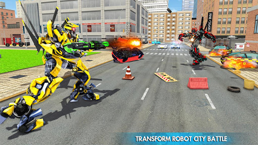 Helicopter Robot Car Transform v1.0.18 screenshots 9