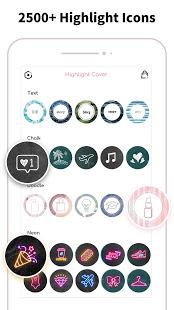 Highlight Cover amp Logo Maker for Instagram Story v2.6.3 screenshots 2