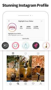 Highlight Cover amp Logo Maker for Instagram Story v2.6.3 screenshots 4