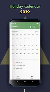 Holiday Calendar v3.4 screenshots 1
