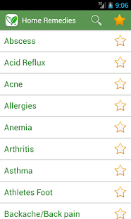 Home Remedies Natural Cures v2.9 screenshots 1
