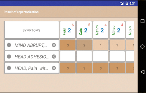 Homoeopathic Repertorium v3.9.5.9 screenshots 3
