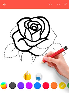 How To Draw Flowers v1.0.25 screenshots 10