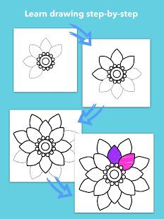How To Draw Flowers v1.0.25 screenshots 11