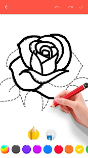 How To Draw Flowers v1.0.25 screenshots 2