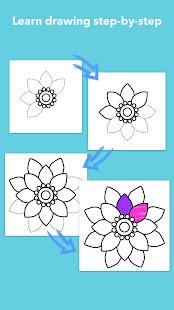 How To Draw Flowers v1.0.25 screenshots 3